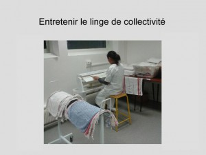 photo 5 entretenir le linge de collectivité