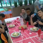 élèves diner